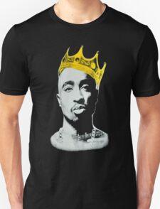 2pac Tupac King Crown Shirt T-Shirt