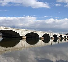 Arlington Memorial Bridge by Cora Wandel