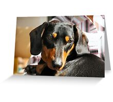 m&d front Greeting Card
