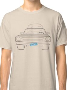 Homesick muscle car t shirt line - oldish Classic T-Shirt
