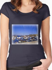 Lyme Harbour Women's Fitted Scoop T-Shirt