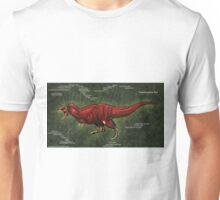 Tyrannosaurus Rex Muscle Study Unisex T-Shirt