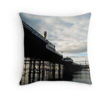 Palace Pier Brighton Throw Pillow