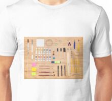 Art Supplies Unisex T-Shirt