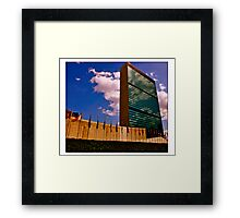 The United Nations Complex Framed Print