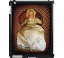 ANTIQUE VINTAGE DOLL-PILLOW-JOURNAL-TOTE BAG-PICTURE-ECT. iPad Case/Skin