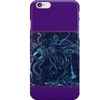 Purple Blue Cthulhu iPhone Case/Skin