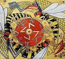 The Sun Wheel by Lynnette Shelley