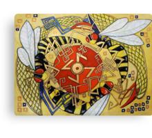 The Sun Wheel Canvas Print