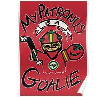 My Patronus is a Goalie (MIN Edition) Poster