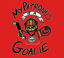 My Patronus is a Goalie (MIN Edition) Womens Fitted T-Shirt
