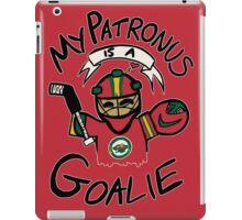 My Patronus is a Goalie (MIN Edition) iPad Case/Skin