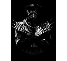 Wolverine Sketch Photographic Print