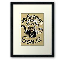 My Patronus is a Goalie (PIT Edition) Framed Print