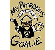 My Patronus is a Goalie (PIT Edition) Photographic Print