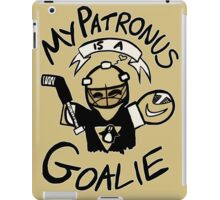 My Patronus is a Goalie (PIT Edition) iPad Case/Skin