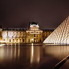 Louvre, Paris by Melissa Fiene