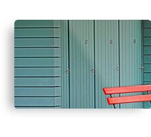 Changing Rooms Metal Print