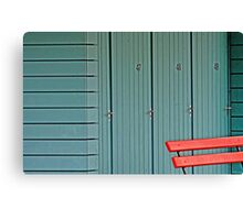 Changing Rooms Canvas Print