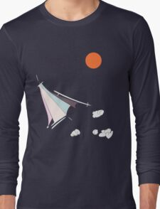 Paper Spaceship 1 Long Sleeve T-Shirt