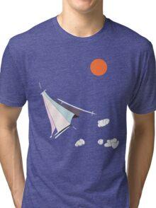 Paper Spaceship 1 Tri-blend T-Shirt