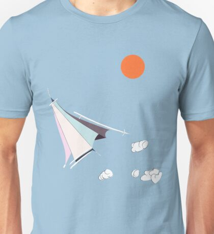 Paper Spaceship 1 Unisex T-Shirt