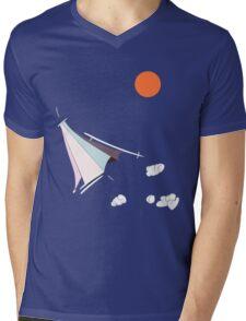 Paper Spaceship 1 Mens V-Neck T-Shirt