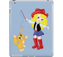 World Champion Kitty Wrangler iPad Case/Skin