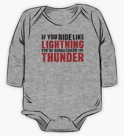 The place beyond the pines If you ride like lightning One Piece - Long Sleeve