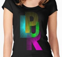 PLUR Women's Fitted Scoop T-Shirt