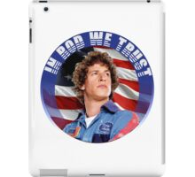 IN ROD WE TRUST iPad Case/Skin