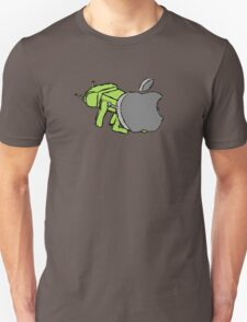 Apple vs. Android Unisex T-Shirt