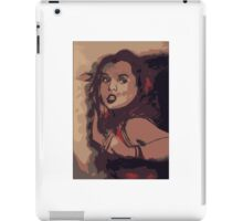 Faith: the dark slayer  iPad Case/Skin