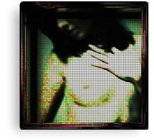 Screen test Canvas Print