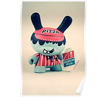 Pizza Dunny  Poster