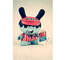 Pizza Dunny  Photographic Print