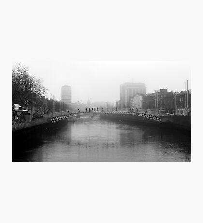 Foggy Dublin Photographic Print