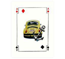 Captain Swan card -  Art Print