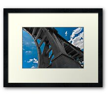 Colorado Street Bridge Framed Print
