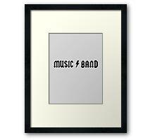 Steve Buscemi – Music Band – 30 Rock Framed Print