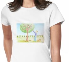 An Earth Womens Fitted T-Shirt