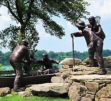 Freedom Crossing Monument ~ Lewiston, NY by artwhiz47