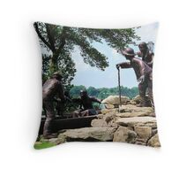 Freedom Crossing Monument ~ Lewiston, NY Throw Pillow
