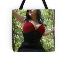 Red Riding Tote Bag