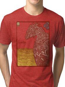Smaug and His Treasure Tri-blend T-Shirt