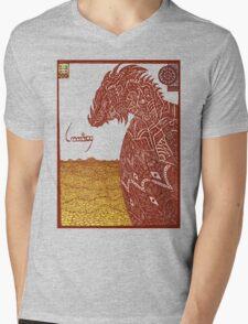 Smaug and His Treasure Mens V-Neck T-Shirt