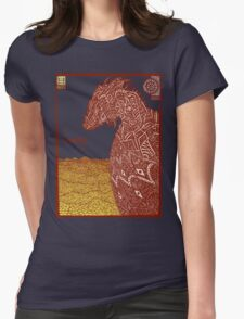 Smaug and His Treasure Womens Fitted T-Shirt