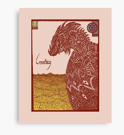 Smaug and His Treasure Canvas Print