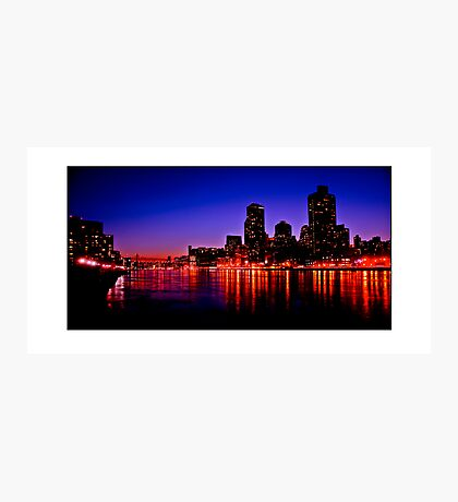 East River Photographic Print