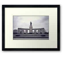 Soviet War Memorial (Tiergarten)  Framed Print